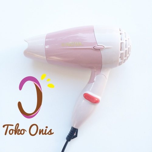 Hair Dryer Mini Lipat Nova kode OH12