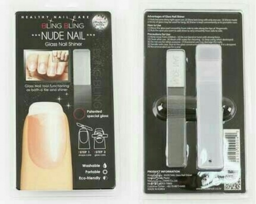 Nude Nail Glass Shiner kode OM18