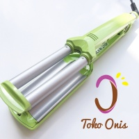 Catokan Curly Wave Three Barrels Wigo kode OC56